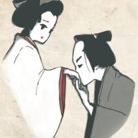 5月文楽鑑賞教室「曾根崎心中」より。